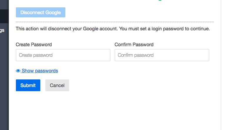 I created a RocketReach account using Google or Facebook